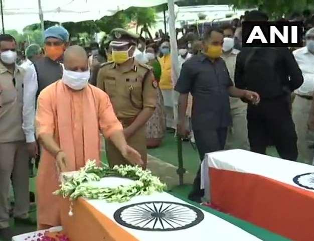 LIVE Kanpur News Today : CM योगी आदित्यनाथ ने शहीदों को दी श्रद्धांजलि, हर परिवार को मिलेंगे एक-एक करोड़