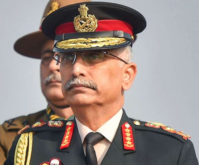 The army chief is on a two-day visit to Ladakh amid tensions with China over the last three months along the Line of Actual Control.