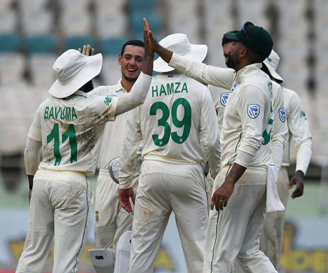 India Vs South Africa 1st Test 2nd Day Match Live Score