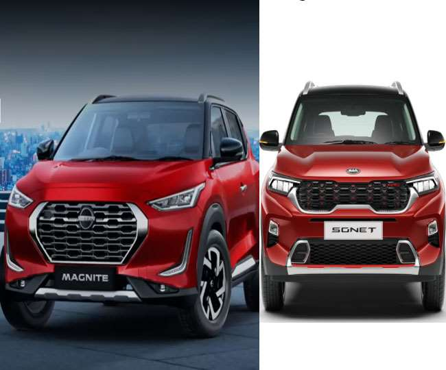 Kia Sonet Vs Nissan Magnite Know Which Affordable Suv Is Best For You In Terms Of Power And Safety Features Granthshala News