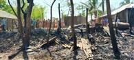 हासा गांव में छह घर समेत संपत्ति जलकर राख