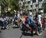 लॉकडाउन के दौरान 10 दिन में 11.61 लाख का कटा चालान, 453 गाड़ियां जब्त- 12 गिरफ्तार