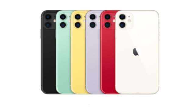 iPhone 11 स्मार्टफोन की फोटो दैनिक जागरण की है