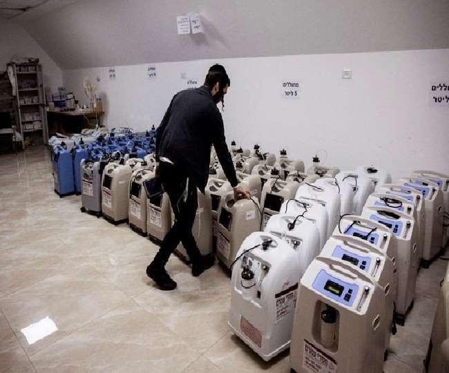 3000 आक्सीजन कंसंट्रेटर का कोई कंसाइनमेंट नहीं रुका- वित्त मंत्रालय। (फोटो: दैनिक जागरण)