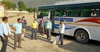 बिहार रवाना हुए 82 मजदूर