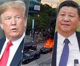 USA Protest: नस्लवाद की आग में झुलसता अमेरिका, चीन पर हिंसा भड़काने का संदेह