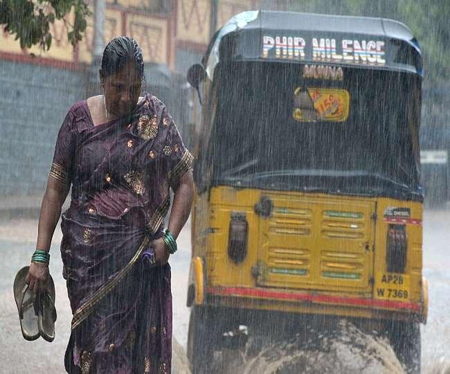 Weather Update: मौसम हुआ ठंडा, अगले कुछ घंटों में इन इलाकों में होनी है भारी बारिश, मौसमी पूर्वानुमान जारी - दैनिक जागरण (Dainik Jagran)