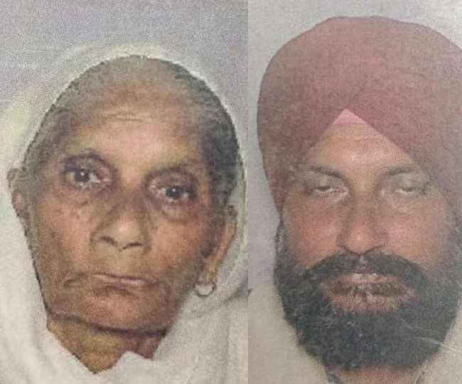 यमुनानगर में कमरे में मृत मिले हरबंस कौर और उसके बेटे रणजीत सिंह की फाइल फोटो।