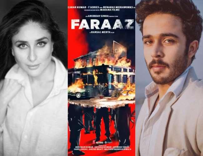 Zahan Kapoor and Faraaz Poster. Photo- Twitter