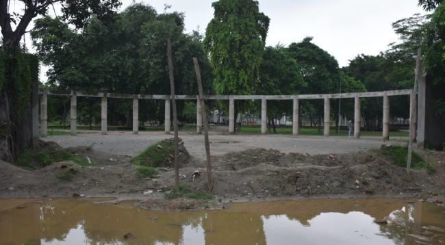 टूटेगा विधायक का वादा, हाली पार्क बनने में तीन महीने और लगेंगे