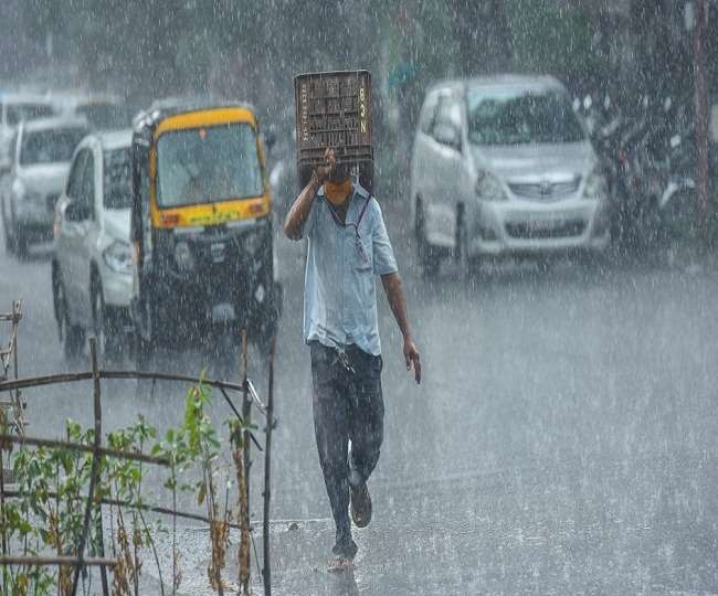 IMD Alert moderate intensity rain would occur over odisha mumbai and  several otther states
