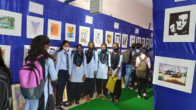 अमृत महोत्सव के तहत कला उत्सव 2021 का आयोजन किया गया।