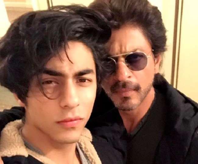 Aryan Khan with Shah Rukh Khan. Photo- Instagram