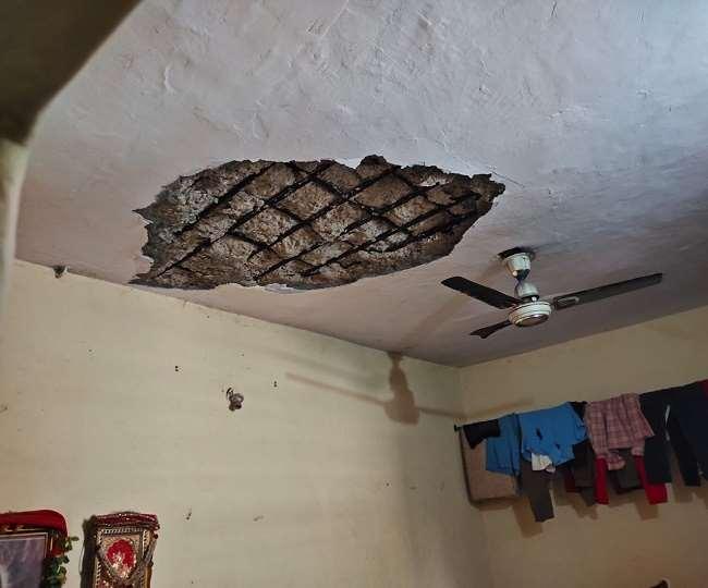 फरीदाबाद में छत का लेंटर गिरने से महिला की मौत