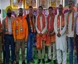 बैठक का आयोजन भाजपा कोआपरेटिव सोसायटी सेल के संयोजक संजीव शर्मा की अध्यक्षता में किया गया