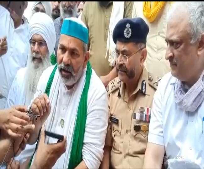 किसान नेताओं तथा लखीमपुर जिला प्रशासन के बीच में कई बिंदुओं पर समझौता