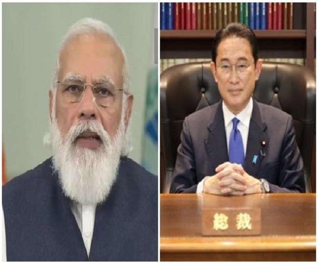 पीएम मोदी ने जापान के नए प्रधानमंत्री फुमियो किशिदा को पदभार ग्रहण करने पर बधाई दी