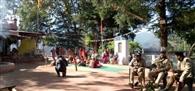 चंडिका मंदिर में प्रशासन ने नहीं होने दी पशु बलि, मंदिर परिसर में तैनात रहा भारी पुलिस बल