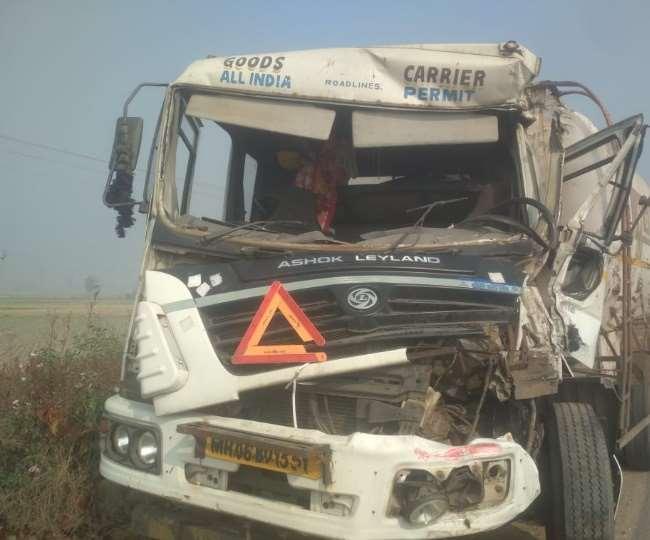 कोहरे का कहर, हिसार-चंडीगढ़ नेशनल हाईवे पर भिड़े एक के बाद एक वाहन