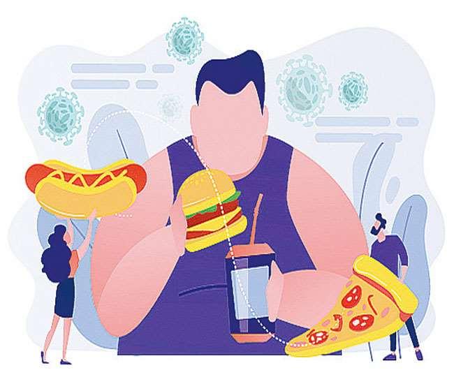 अमेरिका की तीन चौथाई आबादी ऐसी है जिसका या तो वजन अधिक है अथवा मोटापे की शिकार है।