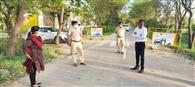 डीसी सुजान सिंह ने इंटरस्टेट नाकों का किया निरीक्षण