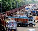 लॉकडाउन तक जरूरी सामान वाले ट्रकों की आवाजाही पर नहीं लगेगा कोई ब्रेक, केंद्र ने दिए निर्देश