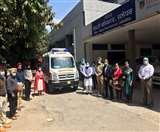 सांसद निधि से सिविल अस्पताल को मिली हाईटैक एंबुलेंस, वेंटिलेटर की होगी सुविधा