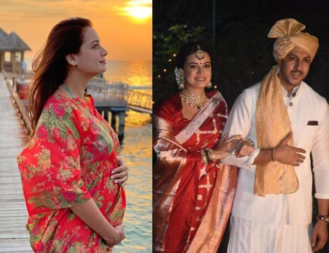 Dia Mirza gives a befitting reply to trollers who questioned her about pregnancy announcement, replies 'I didn't marry Vaibhav because of Pregnancy'