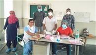 कोरोना अस्पताल से आठ संक्रमितों को ठीक होने के बाद वार्ड से किया डिस्चार्ज