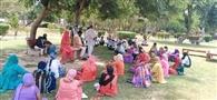 आदमपुर में सकसं के सदस्यों ने रोष जताकर सौंपा ज्ञापन