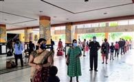 दूसरे दिन स्पेशल ट्रेन से 108 यात्री गए दिल्ली