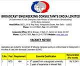 BECIL Recruitment 2020: पूर्वी दिल्ली नगर निगम में 464 मल्टी टास्किंग स्टाफ भर्ती को लेकर जारी हुआ ये अपडेट