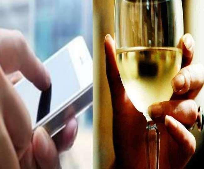 दिल्ली में शराब की होम डिलीवरी को लेकर पुलिस ने किया सचेत