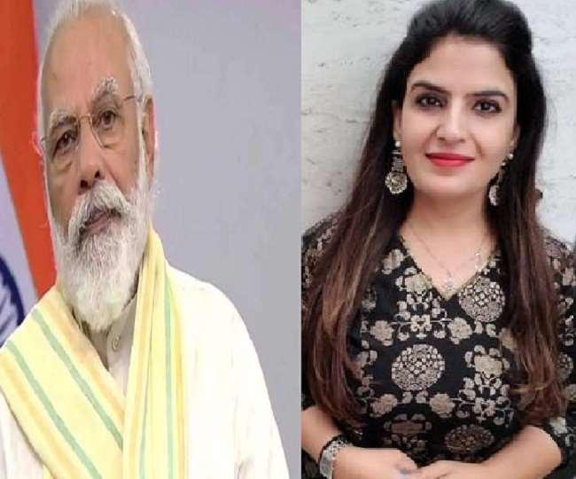 पीएम मोदी से गलत तारीख पर भी जन्मदिन की बधाई पाकर खुश हैं दिल्ली BJP की ये नेता