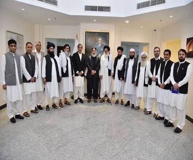 पाकिस्तान के राजदूत ने की तालिबान नेताओं से बातचीत