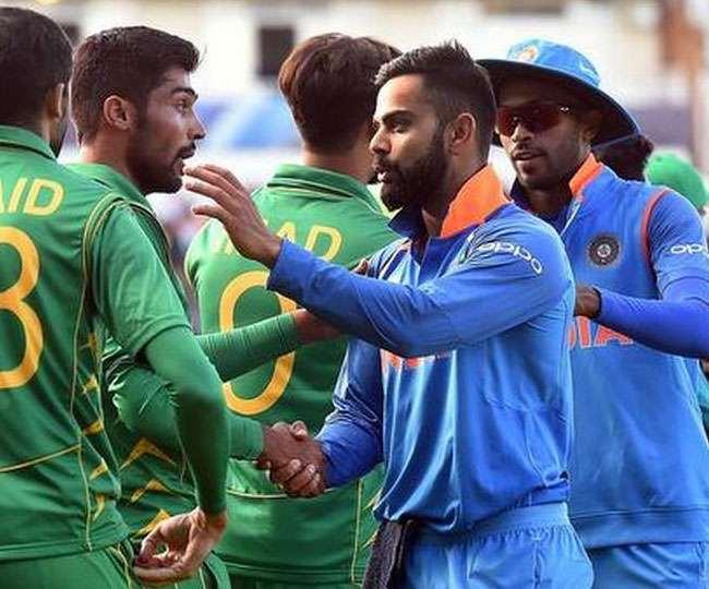 भारत और पकिस्तान की टीम के खिलाड़ी (फाइल फोटो)