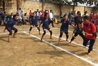 प्रतियोगिता में खिलाड़ियों ने दिखाई प्रतिभा