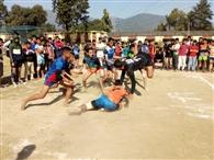 वालीबॉल में भोजावाला व खो-खो में विकासनगर जीते