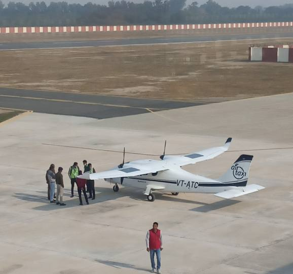 Haryanas son to start countrys first air taxi - Haryana Hisar Common Man  Issues News