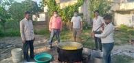 विद्या का मंदिर बना जरूरतमंदों की रसोई, 600 श्रमिकों को हर दिन खाना