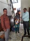 विहिप ने 300 परिवारों को राशन किट बांटीं