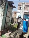 कई पंचायतों में किया गया छिड़काव, बांटी गई राहत सामग्री