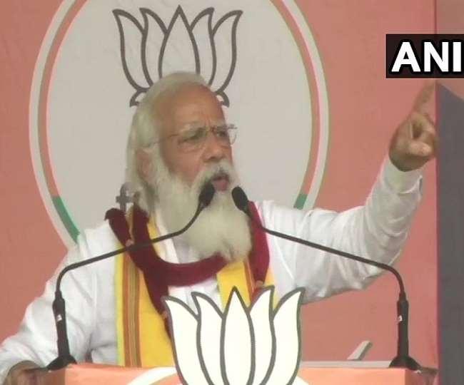पश्चिम बंगाल में प्रधानमंत्री मोदी ने किया जीत का दावा