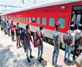 कई राज्यों में लाकडाउन लगने से ट्रेनों से यात्री दूर होने लगे हैं।