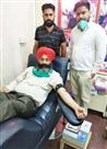 रक्तदान करने से मिलता है सुकून : रविदर रवि