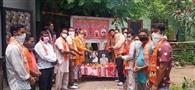 शिवसेना बाल ठाकरे ने मनाया आतंकवाद विरोधी दिवस
