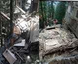 छोटा शिमला में पांच मंजिला भवन गिरा, बड़ा हादसा टला; तीन भवनों को पहुंची क्षति Shimla News