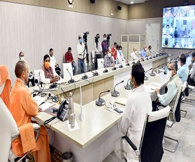 CM Yogi Adityanath Unveiled and Laid Foundation of 28 Power Sub Station in  UP