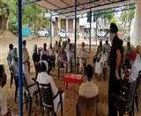जमीन अधिग्रहण मामले में प्रशासन के खिलाफ ग्रामीण भूख हड़ताल पर बैठने को तैयार
