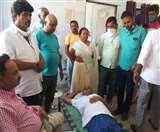 बिहार में थानेदार के रवैए से नाराज गया के जदयू सांसद और राजद विधायक ने थाने में दिया धरना
